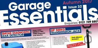 Garage Essentials - Autumn 2017