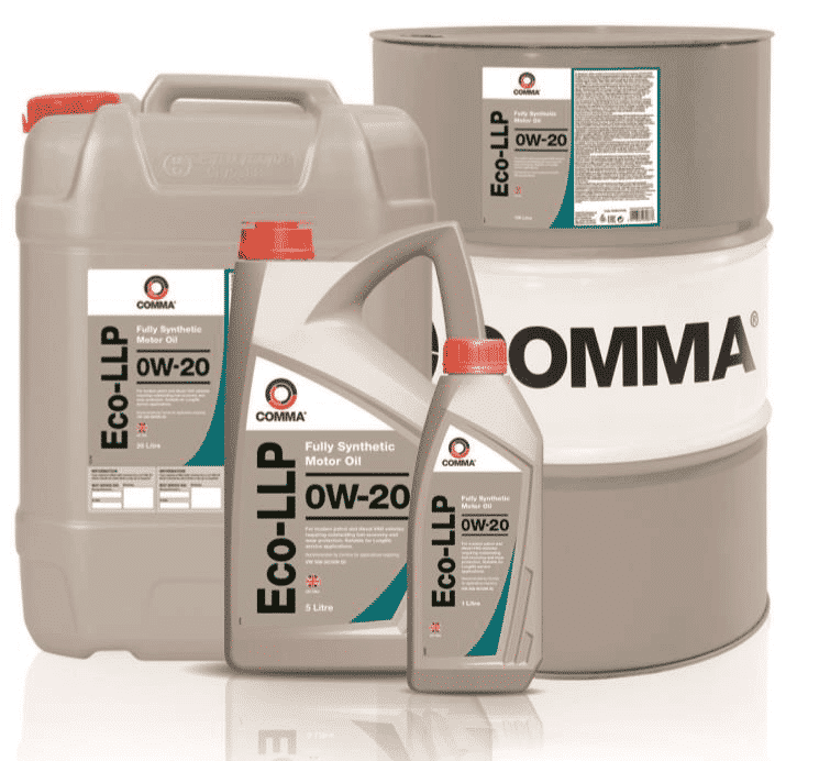 New Comma Eco-LLP 0W-20 meets the latest VW 508 509