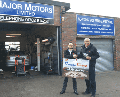Staffordshire Family Garage Owner Wins Dream Drive