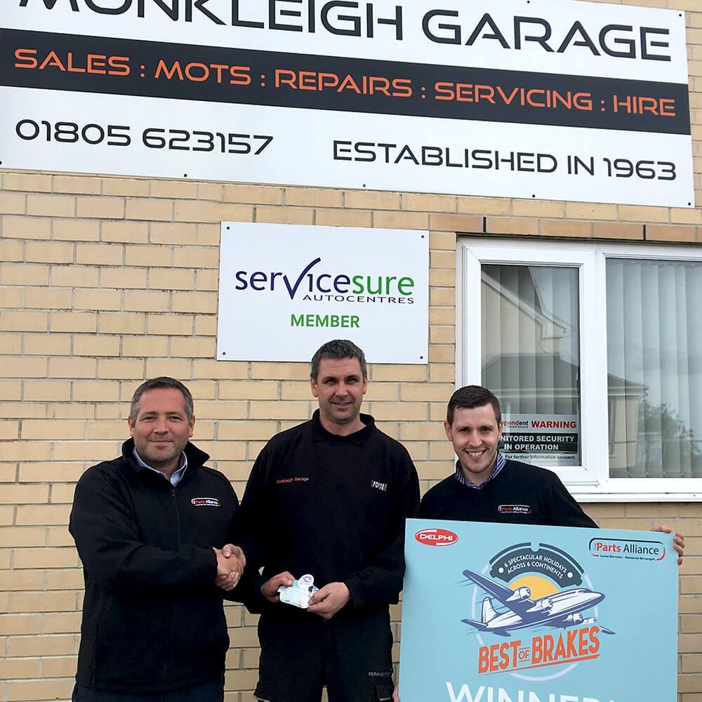 Monkleigh Garage