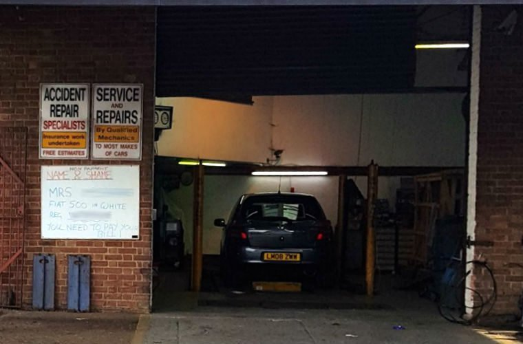 Croydon garage adopts board of shame to deal with non-paying customers