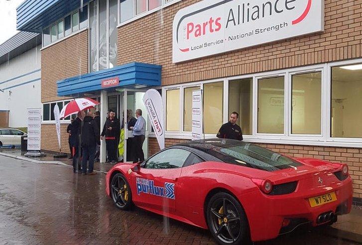 Parts Alliance evening attracts over 200 customers despite heavy rain