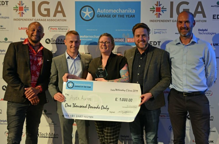 Avia Autos crowned Garage of the Year 2019