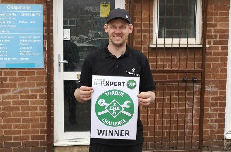 REPXPERT member wins VIP Brands Hatch weekend