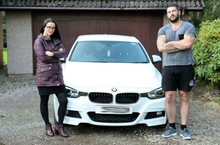 BMW technician caught speeding in customer's car