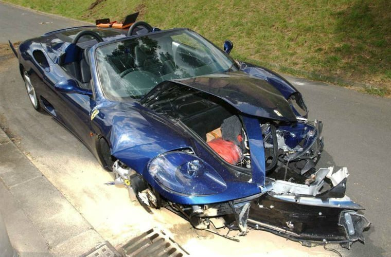 Dealer appeals court finding after selling Ian Wright's crashed Ferrari